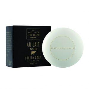 Au Lait Noir Luxury Soap 100g