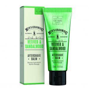 Men's Grooming Vetiver & Sandalwood balsam po goleniu