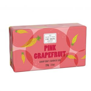 Pink Grapefruit Luxury Wrapped Soap