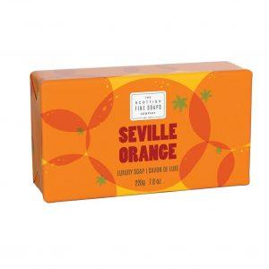 Seville Orange Luxury Wrapped Soap